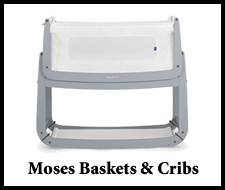 Moses Baskets and Cribs