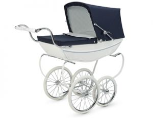 Silver Cross Oberon Dolls Pram - Choice of 2 colours