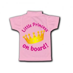 Princess on Board Sign