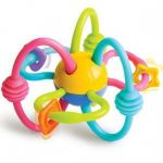 "Infantino Bendy Tube Rattle & Teether ""Pink"""