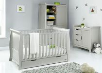 OBaby Stamford Classic 3 piece Room Set Warm Grey