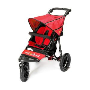 Out n About Nipper Single V4 Carnival Red