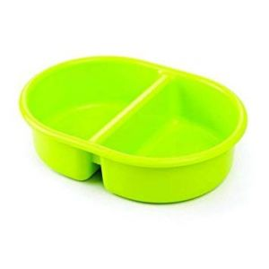 Neat Nursery Top and Tail Bowl Lime