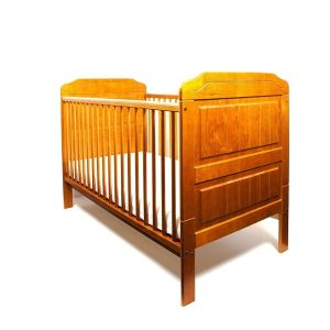 LITTLE BABES Stanley Cot Bed Antique