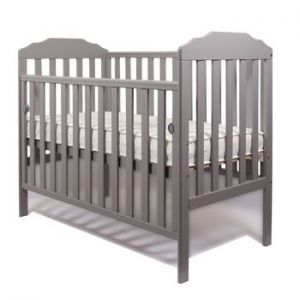 Little Babes Nicki Cot Grey