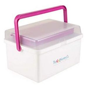 Neat Nursery Nappy Box Pink
