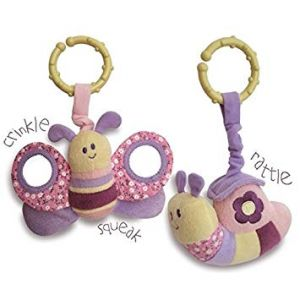 Little Bird Told Me - Rattle and Squeak Set
