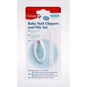 Clippasafe Baby Nail Clippers and File