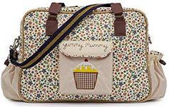 "Pink Lining Yummy Mummy Changing Bag ""Busy Bees"""
