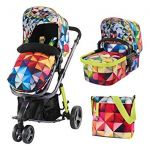 Cosatto Giggle 3 in 1 Spectroluxe with FREE Car Seat!