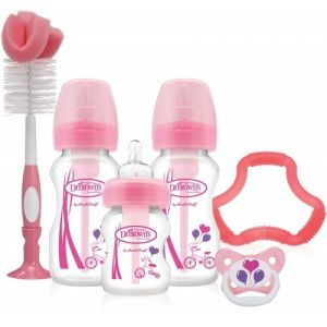Dr Browns Options Gift Set Pink