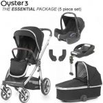 BABYSTYLE Oyster 3 Essential Bundle Caviar on Mirror Chassis