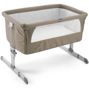 Chicco Next 2 Me Bedside Crib Dove Grey