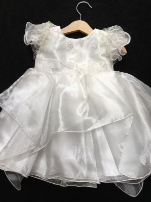Kinder Christening / Party Dress Ivory 18-36 mths