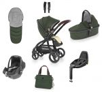 Egg Stroller Luxury Bundle Country Green