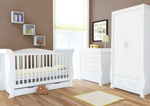 BabyStyle Hollie White FREE Deluxe Spring Mattress
