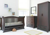 BabyStyle Hollie Walnut FREE Deluxe Spring Mattress