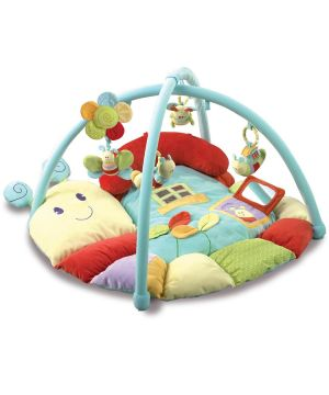 Little Bird Told Me - Softy Snail Multi Activity Gym