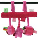 Label Label Car Seat Toy Pink