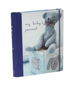 My Baby's Journal Blue