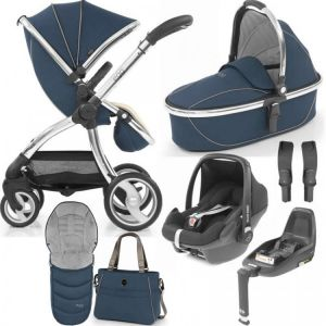 Egg Stroller Luxury Bundle Deep Navy