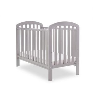 OBaby Lily Cot Warm Grey
