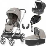 BabyStyle Oyster 3 Essential Bundle Pebble on City Grey or Mirror Chassis