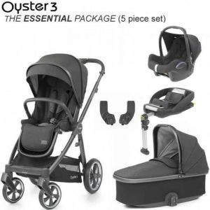 BABYSTYLE Oyster 3 Essential Bundle Pepper on Mirror Chassis