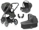 BabyStyle Oyster 3 Essential Bundle Pepper on City Grey or Mirror Chassis