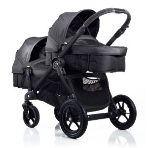 Baby Jogger City Select Charcoal Denim - Twins