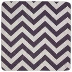 Highchair Mess Mat - Grey Chevrons