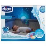 Chicco First Dreams Next 2 Stars Baby Night Light Projector, Blue