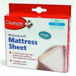 CLIPPASAFE Waterproof Sheet Cot or Cot Bed