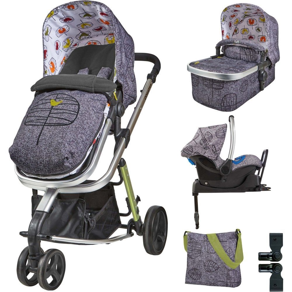 Cosatto Giggle 2 Whole 9 Yards Port ISOFIX Travel System Dawn Chorus