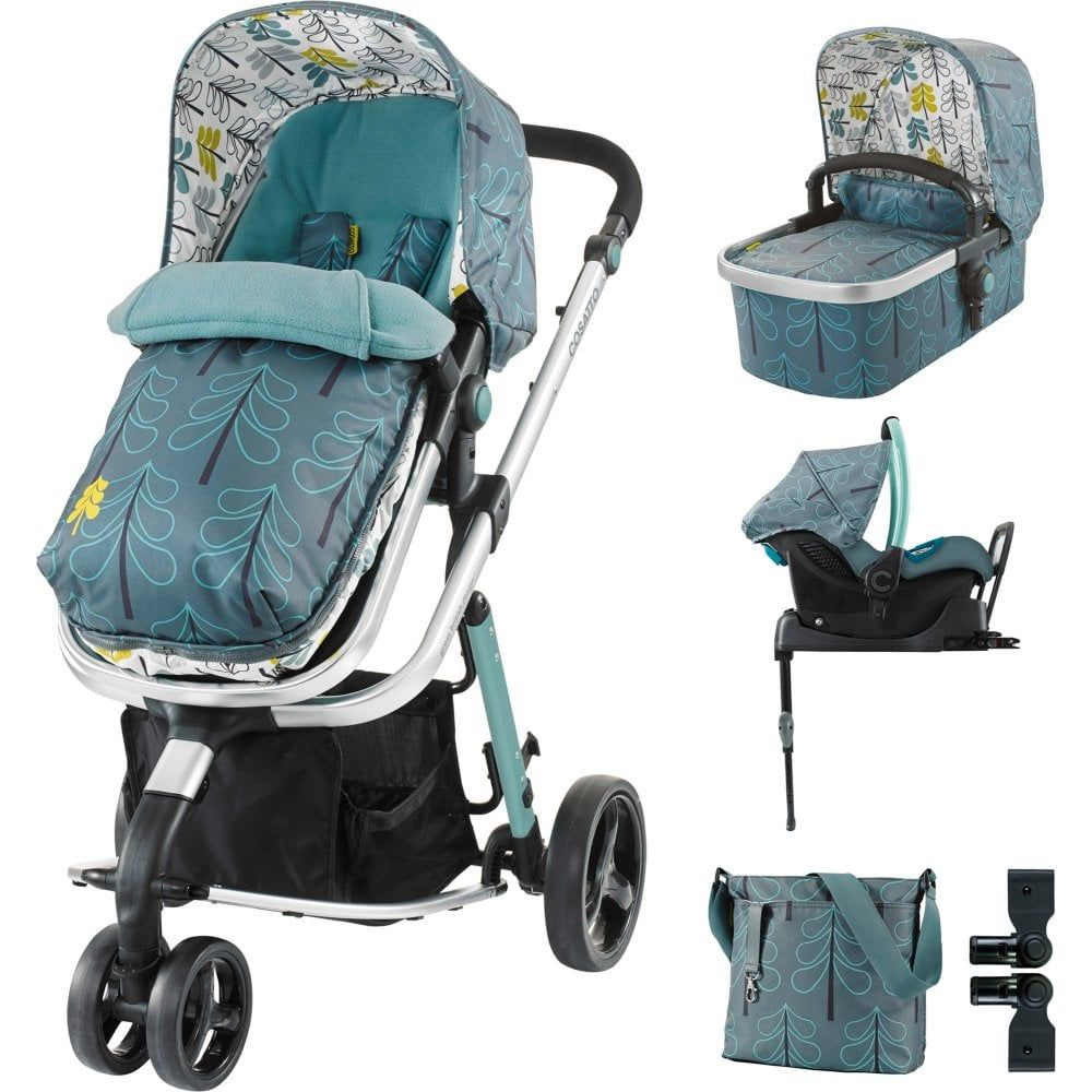 Cosatto Giggle 2 Whole 9 Yards Port ISOFIX Travel System Fjord