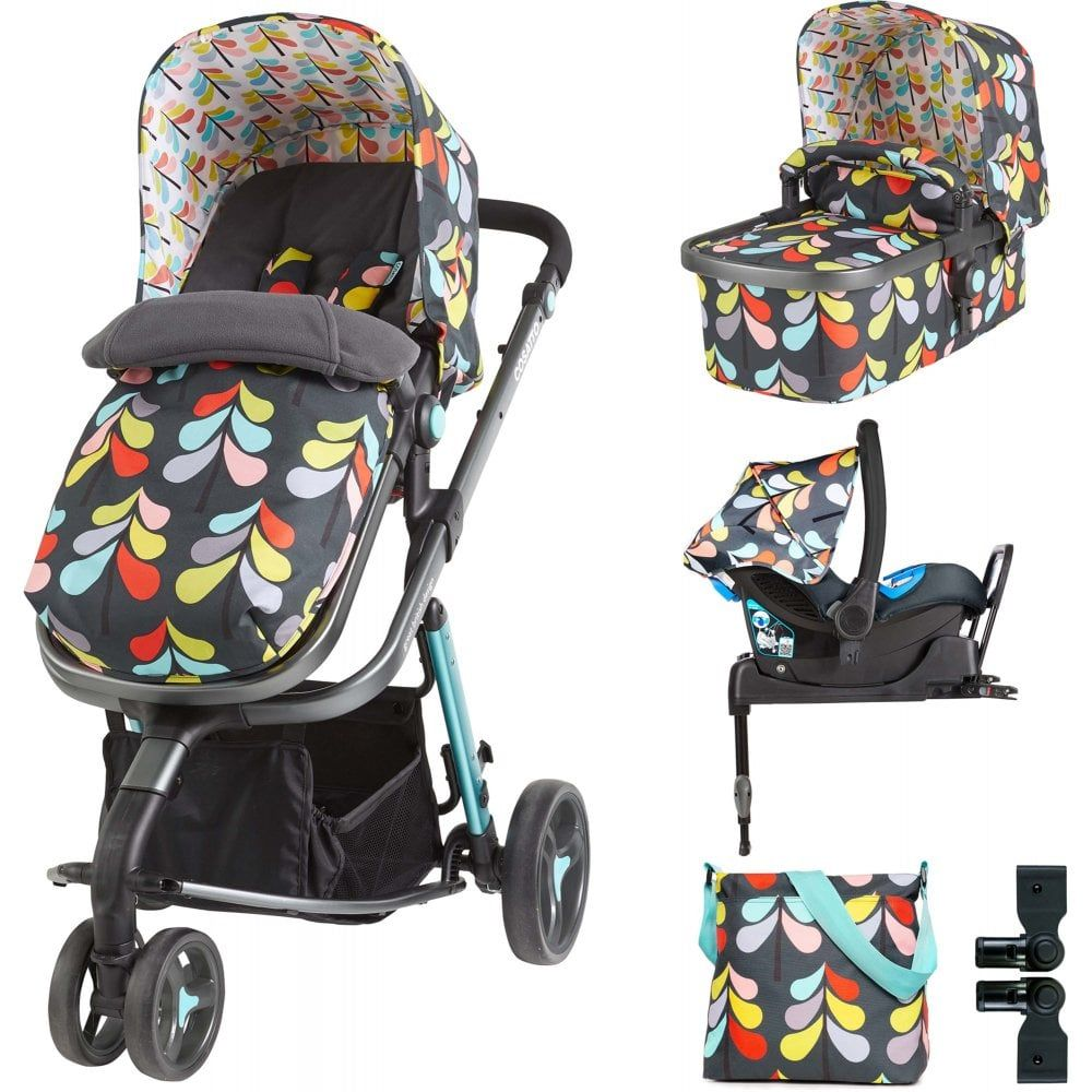 Cosatto Giggle 2 Whole 9 Yards Port ISOFIX Travel System Nordic