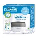 Dr Brown's Options Microwave Steam Steriliser