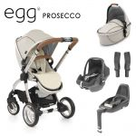 egg Stroller Bundle 7 piece Prosecco