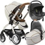 egg Stroller Bundle Kiddy Evo Luna Fix Prosecco