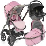 egg Stroller Bundle Kiddy Evo Luna Fix Bundle Strictly Pink