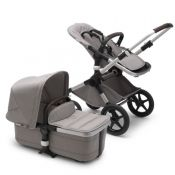 "Bugaboo Fox 2 Mineral ""Light Grey"" - Choice of chassis colour"