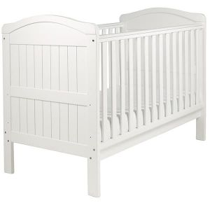 EASTCOAST Country Cot Bed White