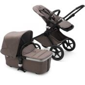 "Bugaboo Fox 2 Mineral ""Taupe"" - Choice of chassis colour"