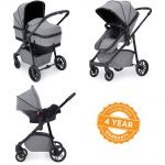 ICKLEBUBBA Moon All in One Travel System - Space Grey