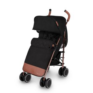 Icklebubba Discovery Max Stroller - Black/Rose Gold