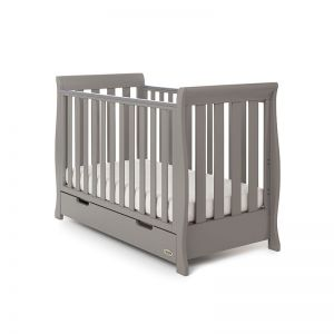 OBaby Stamford Mini Cot Bed Taupe
