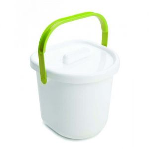 Neat Nursery Nappy Pail and Lid Lime