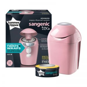Sangenic Nappy Disposal Tub Pink