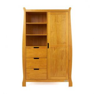 OBaby Stamford Double Wardrobe Country Pine