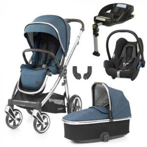 BabyStyle Oyster 3 Essential Bundle Regatta on City Grey or Mirror Chassis